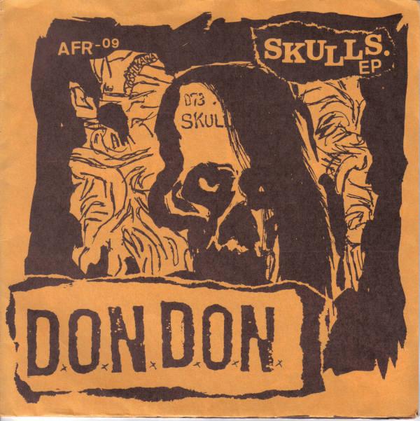 D.O.N.D.O.N. - Skulls. EP - 1989