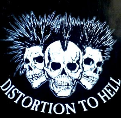 Various - Distortion To Hell - 1994