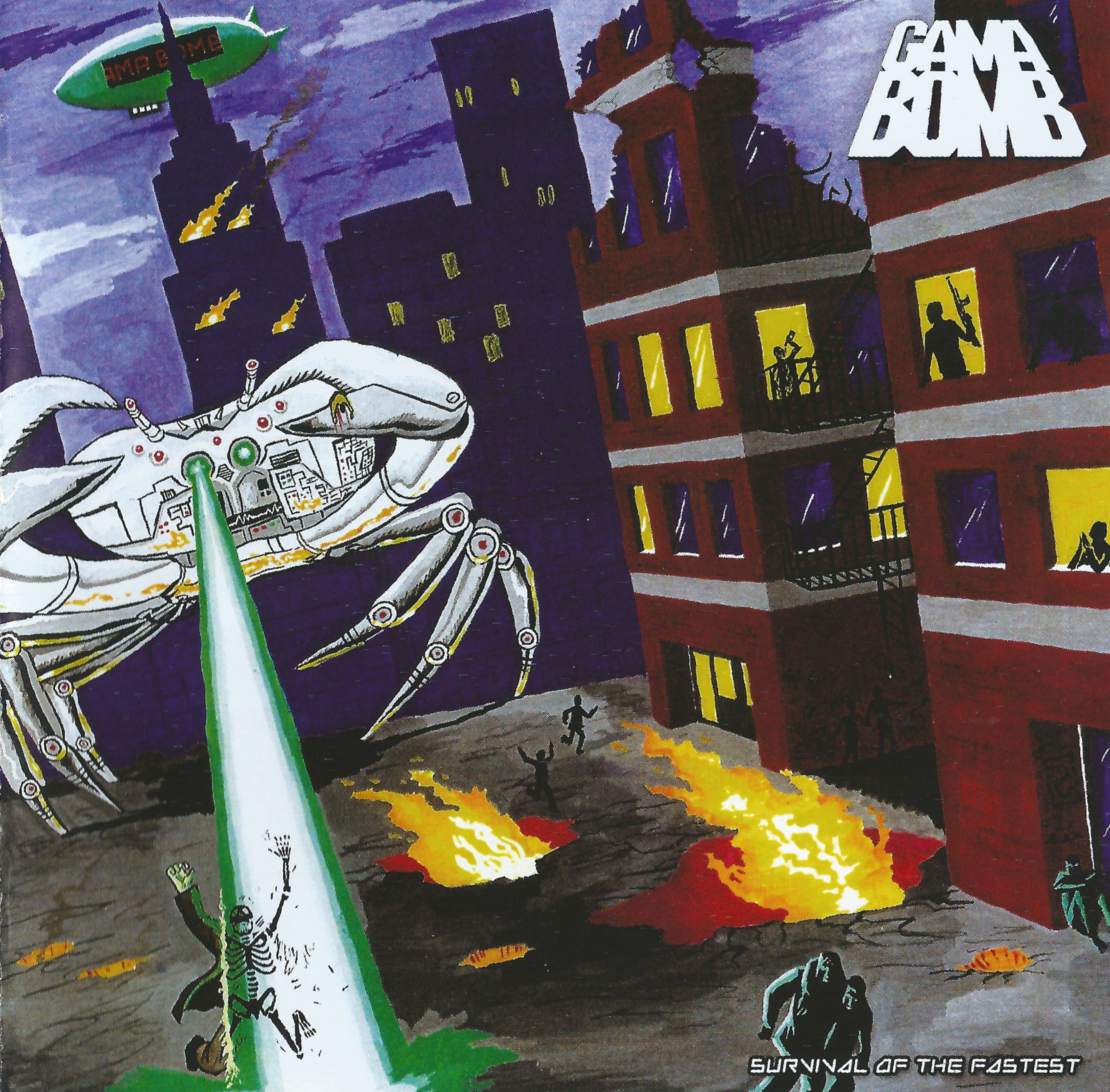 Gama Bomb - Survival Of The Fastest - 2005