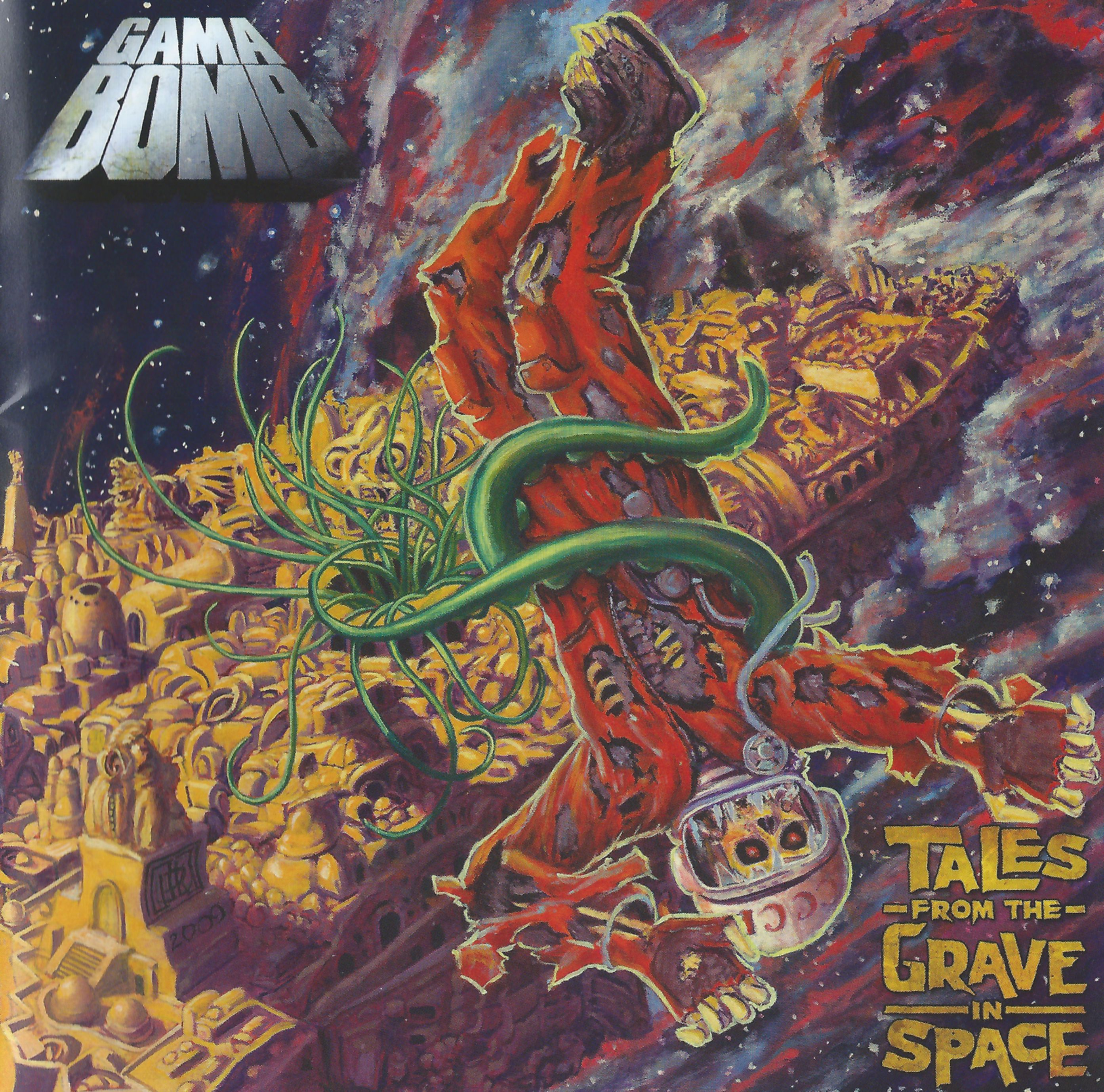 Gama Bomb - Tales From The Grave In Space - 2009