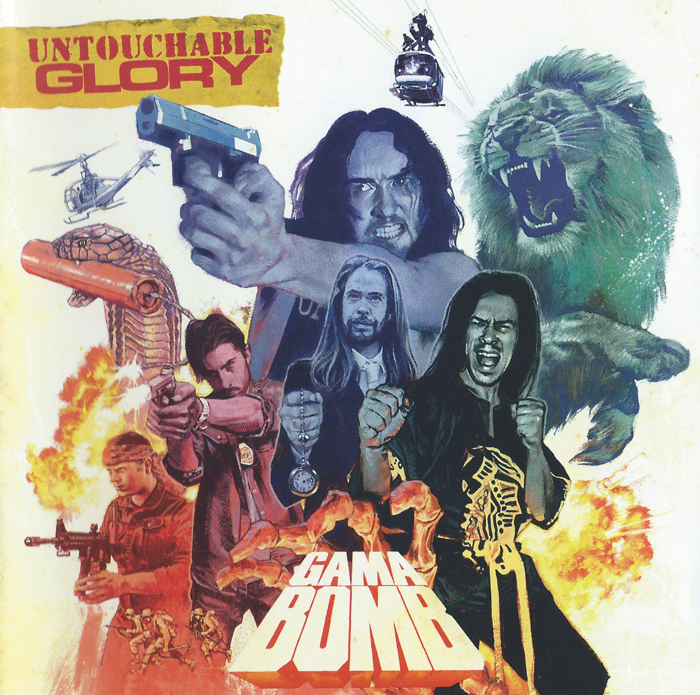 Gama Bomb - Untouchable Glory - 2015