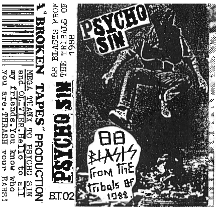 Psycho Sin - 88 Blasts From The Tribals Of 1988