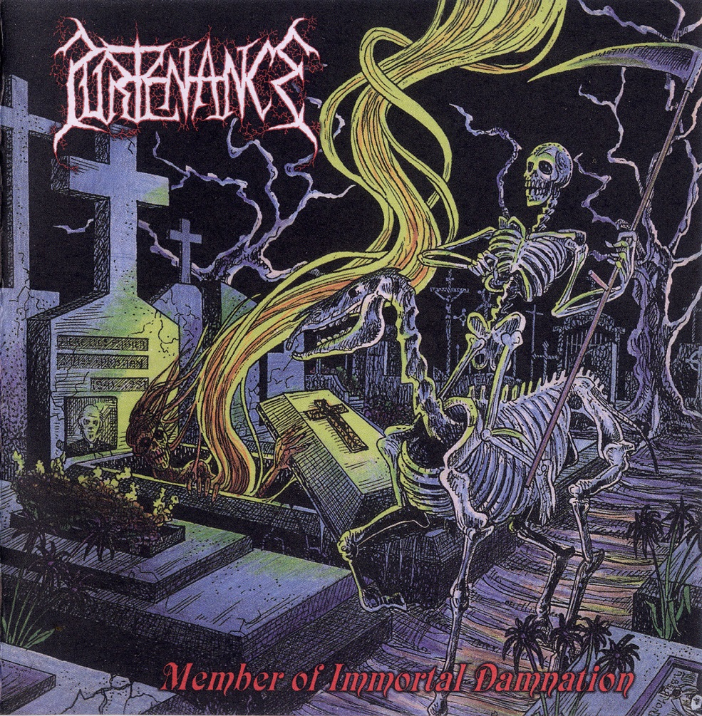 Purtenance - Member Of Immortal Damnation - 1991