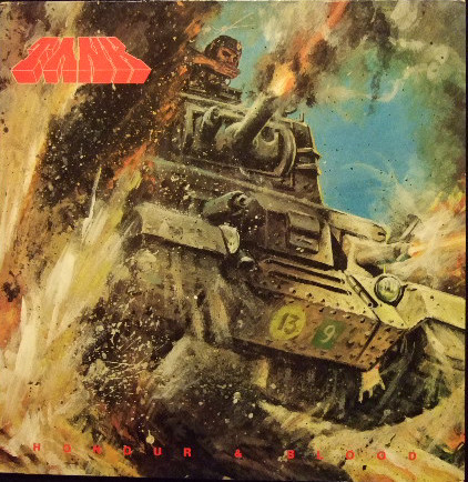 Tank - Honour And Blood - 1984