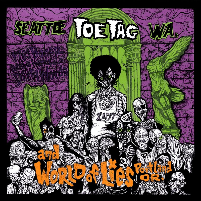 World Of Lies, Toe Tag - Toe Tag And World Of Lies - 2009