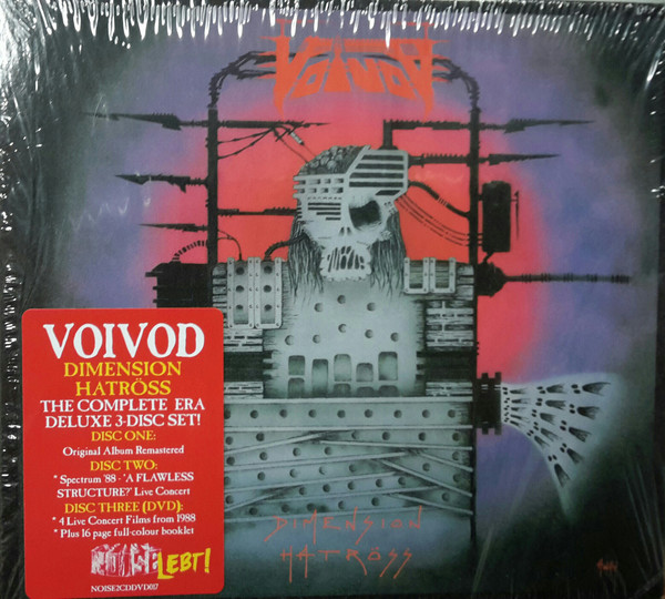 Voïvod - Dimension Hatröss - 1988