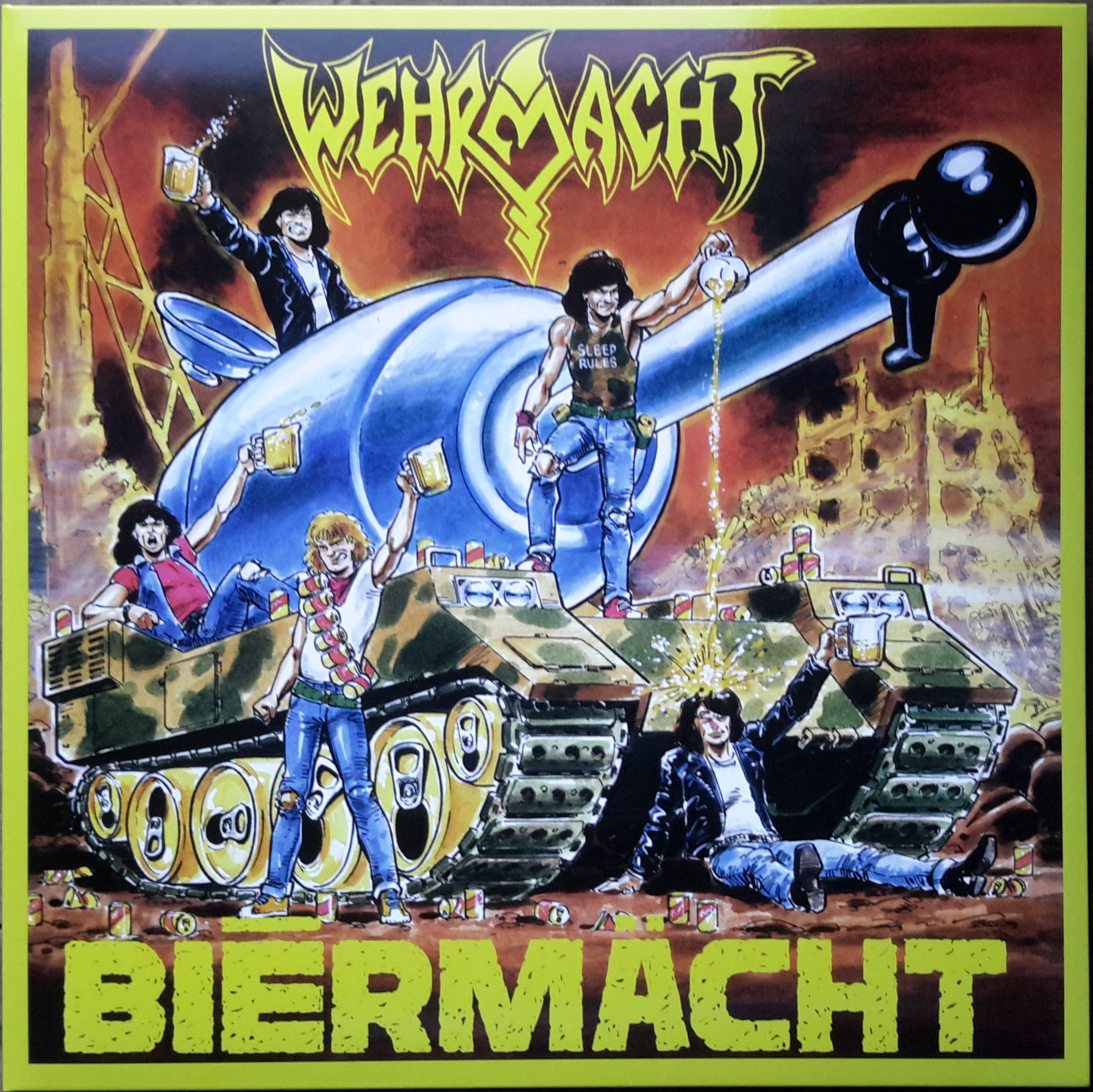 Wehrmacht - The Complete Beer-Soaked Collection 1985-1989 - 2014