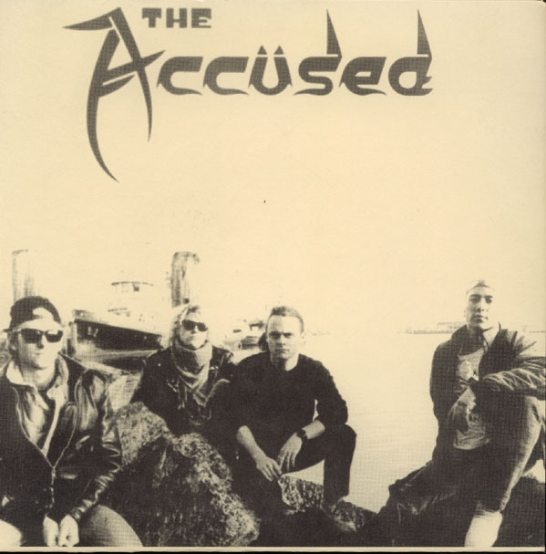 The Accüsed - Split 7'' Morphius 1989