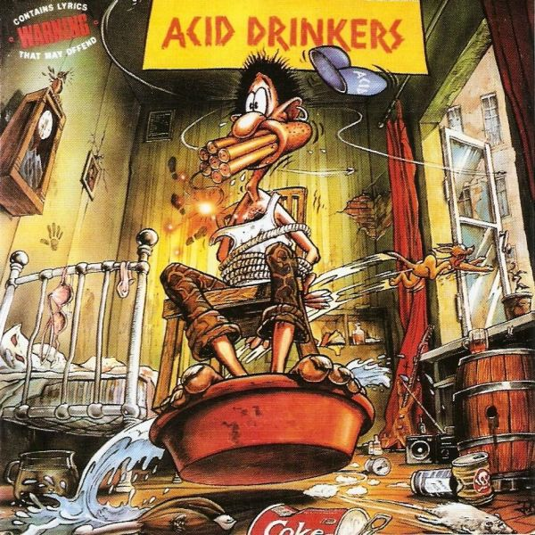 Acid Drinkers - Are You A Rebel 1990