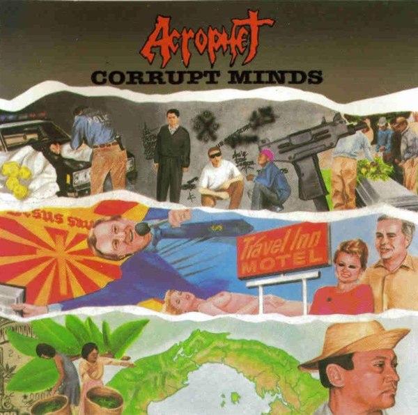 Acrophet - Corrupt Minds - 1988