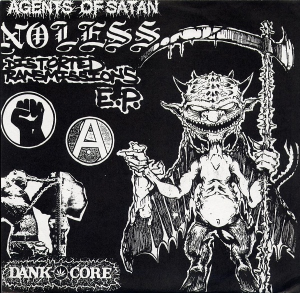 Agents Of Satan - Distorted Transmissions E.P. 1996