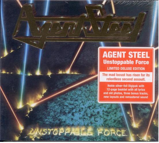 Agent Steel - Unstoppable Force 1987