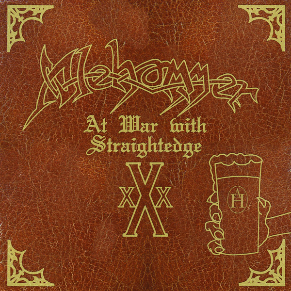 Alehammer - At War With Straight Edge Split 12'' Tyrant 2009
