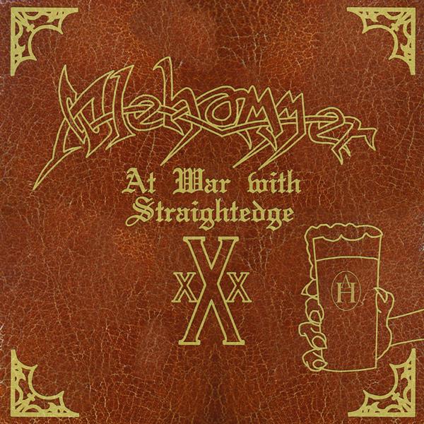 Alehammer - At War With Straight Edge Split 12'' Tyrant 2009