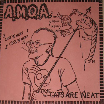 Apple Maggot Quarantine Area - Cats Are Neat 7'' 1986