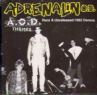 Adrenalin O.D. - A.O.D. Themes (Rare & Unreleased 1982 Demos) 1982