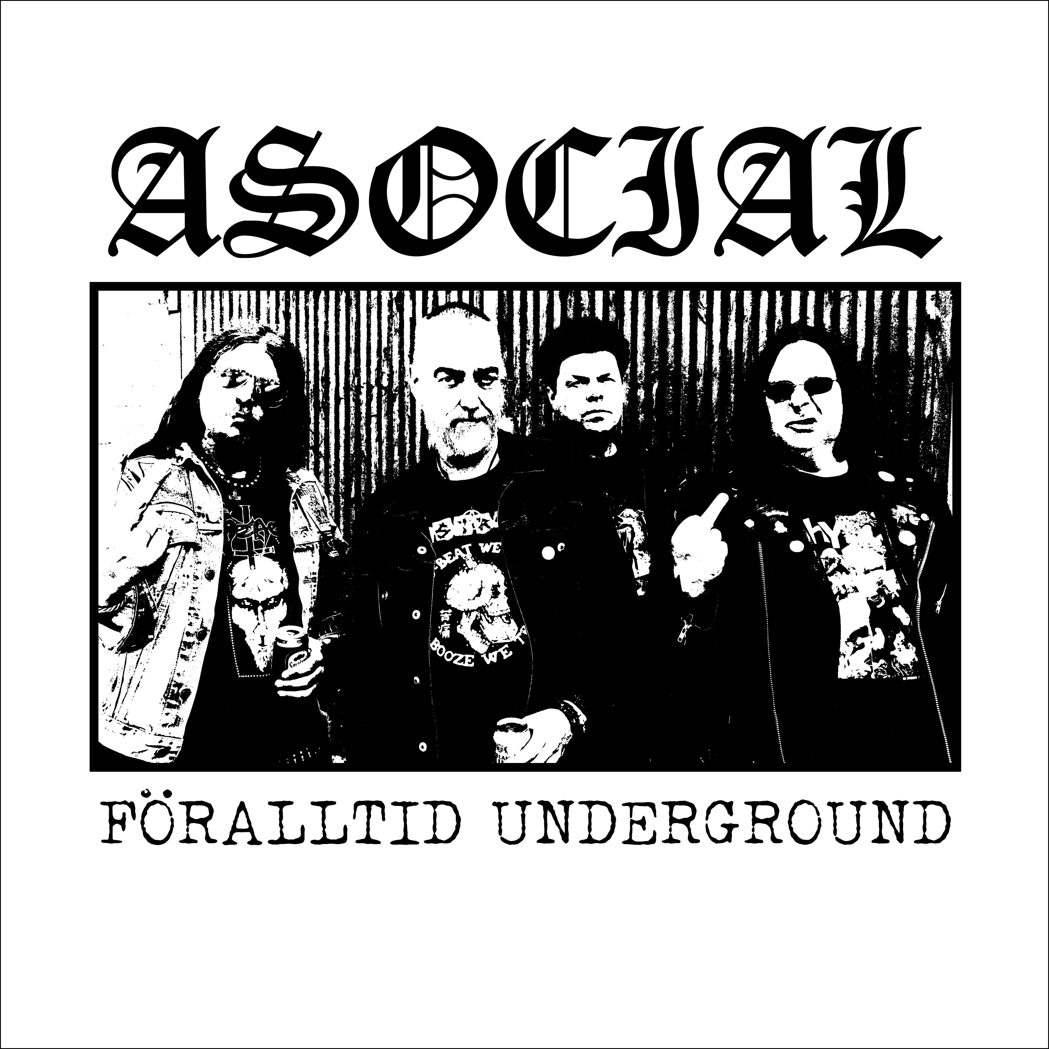 Asocial - Föralltid Underground - 2019