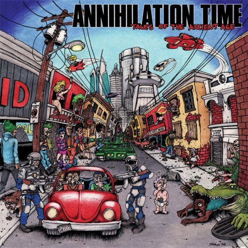 Annihilation Time - Annihilation Time III-Tales Of The Ancient Age 2008