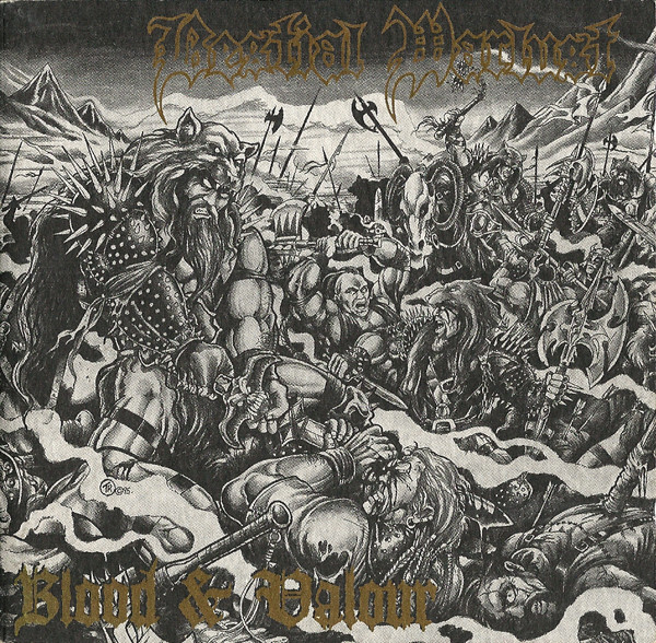 Bestial Warlust - Blood & Valour - 1995
