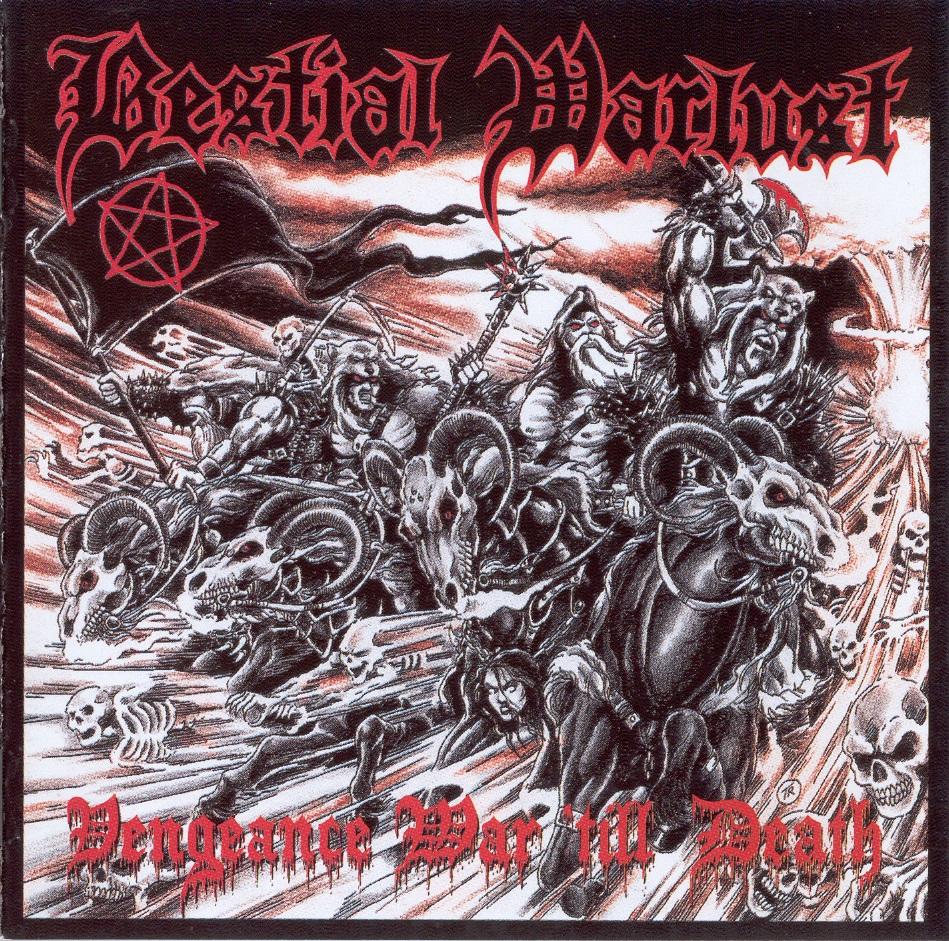 Bestial Warlust - Vengeance War 'Till Death - 1994