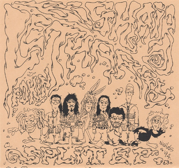 Lethargy, Big Hair - Split Ep. - 1994