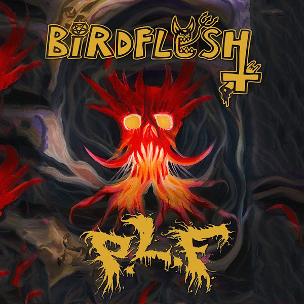 Birdflesh, Pretty Little Flower - Split - 2014