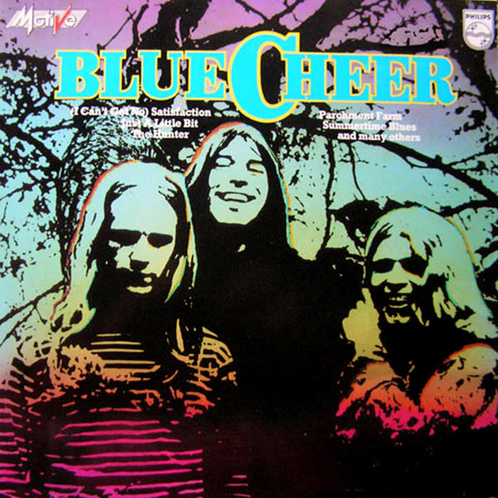 Blue Cheer - Motive - CD rip - Contains Outsideinside + 2 bonus tracks