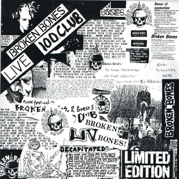 Broken Bones - Live 100 Club 1985