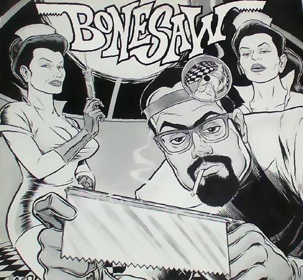 Bonesaw - Written In Stone 1993