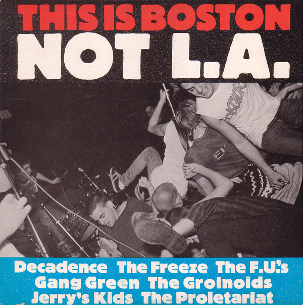Various - This Is Boston Not L.A. - 1982