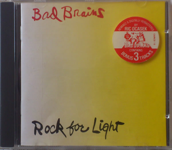 Bad Brains - Rock For Light 1991 Remix 1983/1991