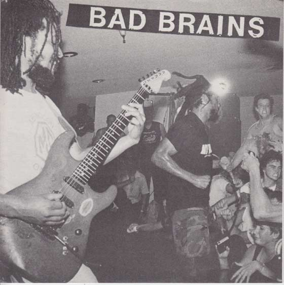 Bad Brains - Live At Iguanas 7'' 1989