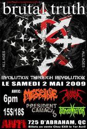 Brutal Truth - Live Quebec City - 2009
