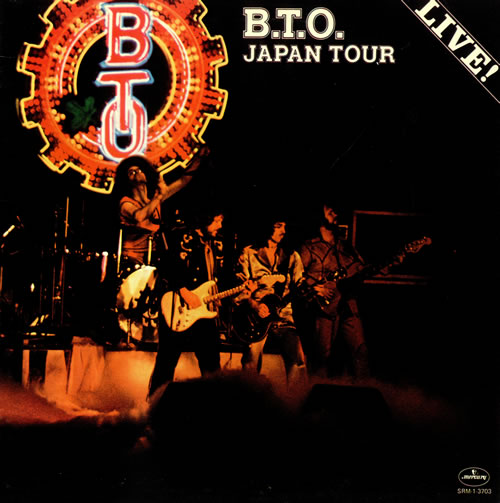 Bachman-Turner Overdrive - Japan Tour - 1977