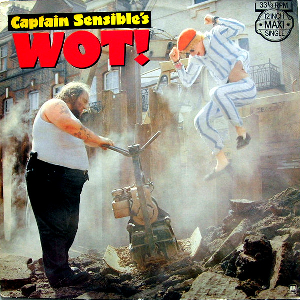 Captain Sensible - Wot! - 1982