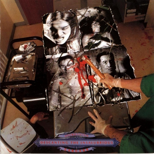 Carcass - Necroticism - Descanting The Insalubrious - 1991