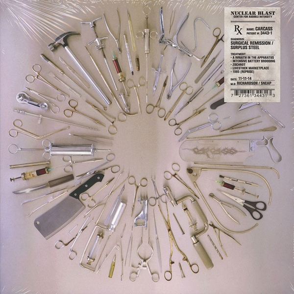 Carcass - Surgical Remission / Surplus Steel EP - 2014