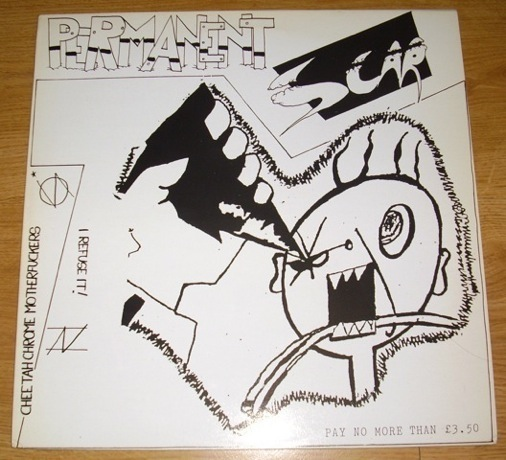Cheetah Chrome Motherfuckers - Permanent Scar Split I Refuse It! 1983/1985