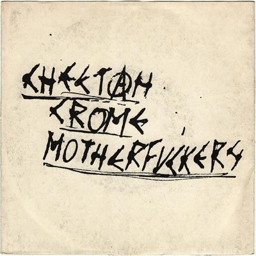 Cheetah Chrome Motherfuckers - 400 Fascists 7'' 1981