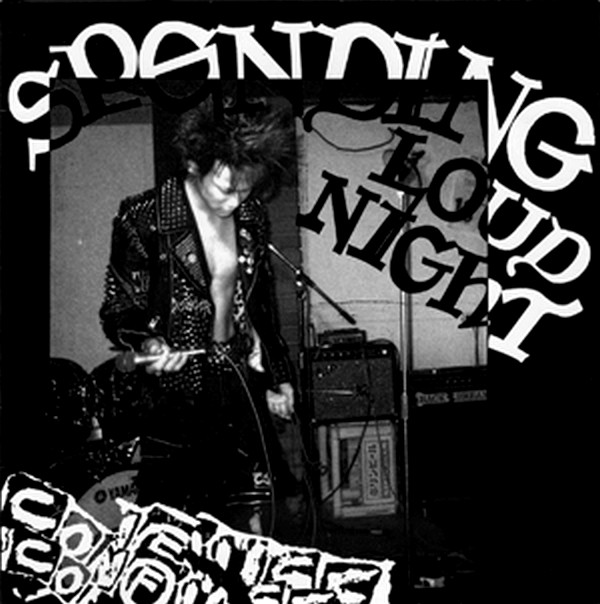 Confuse - Spending Loud Night 7'' 1987