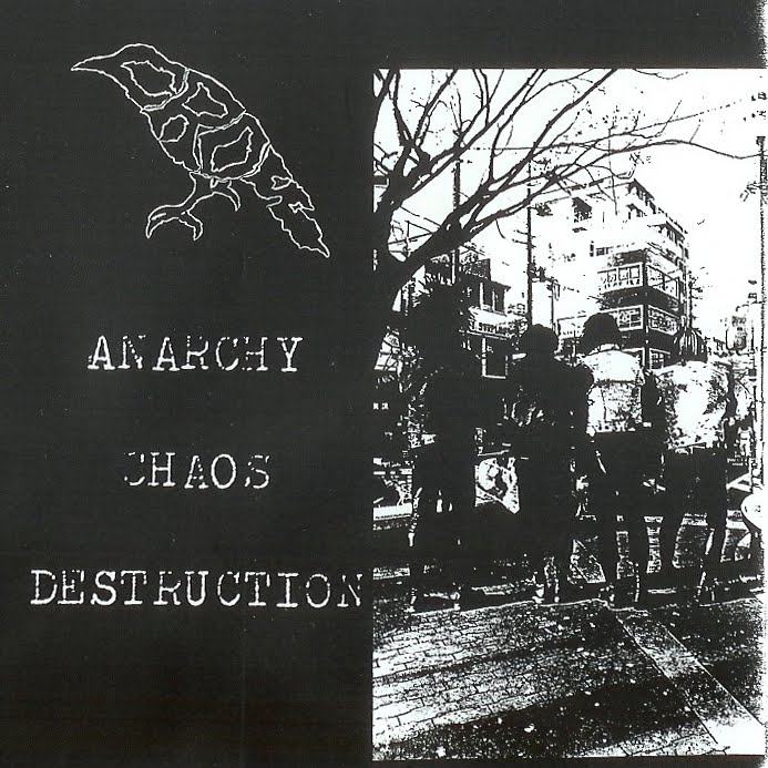 Crow - Anarchy Chaos Destruction 1985/1995