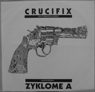 Crucifix, Zyklome A - Live At Brighton Academy / Made In Belgium - 1994