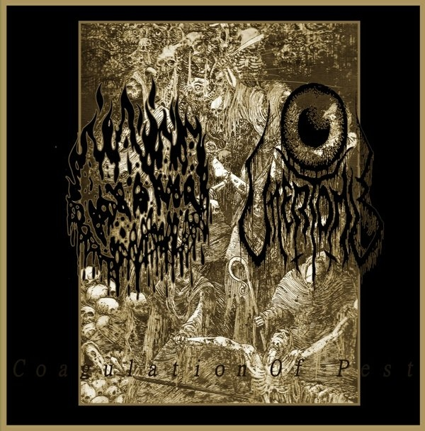 Uttertomb, Death Vomit - Coaligation Of Pest - 2013