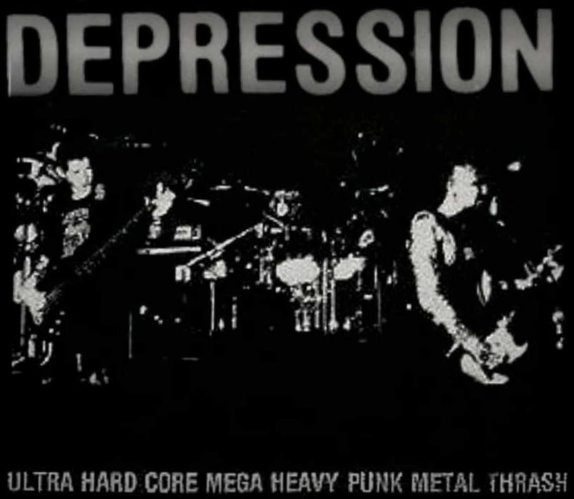 Depression - Ultra Hard Core Mega Heavy Punk Metal Thrash - 1987