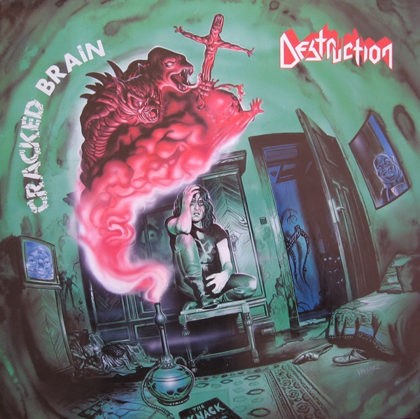 Destruction - Cracked Brain - 1990