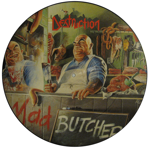 Destruction - Mad Butcher - 1986