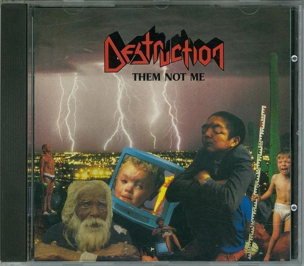 Destruction - Them Not Me - 1995