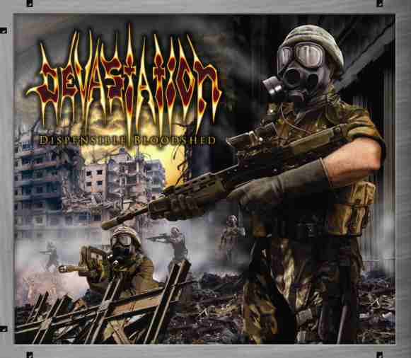 Devastation - Dispensible Bloodshed 1986