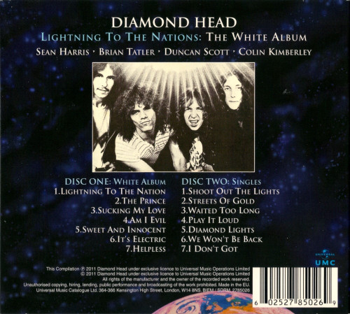 Diamond Head - Lightning To The Nations: The White Album - 1980
