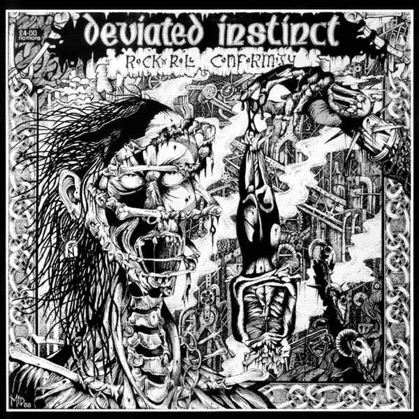 Deviated Instinct - Welcome To The Orgy - 1988
